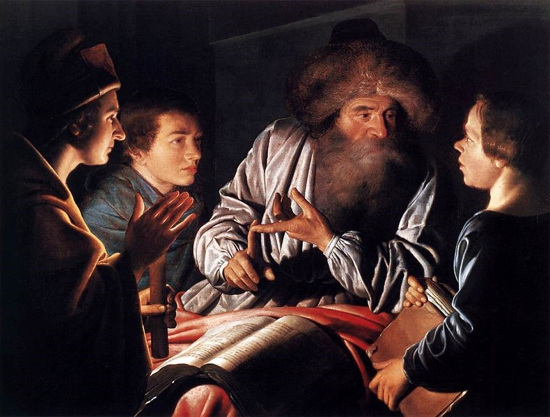 Philosopher And Pupils,  Willem Willemsz. Van Der Vliet, 1626