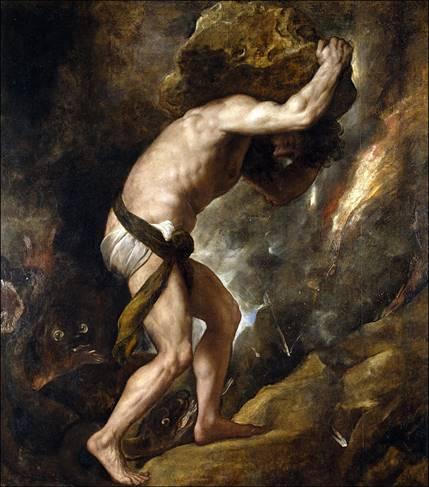 Sisyphus, Door Titiaan, 1490-1576
